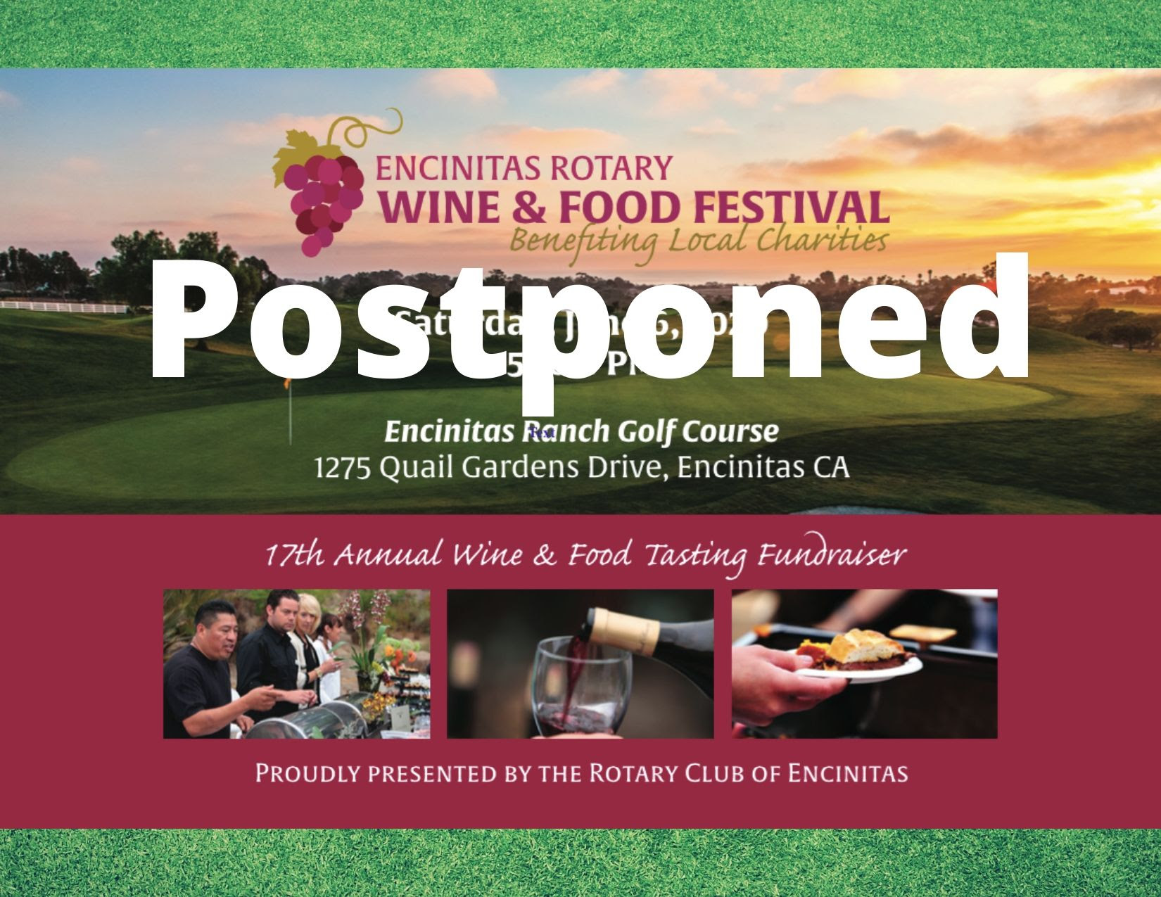 POSTPONED: Encinitas Wine & Food Festival