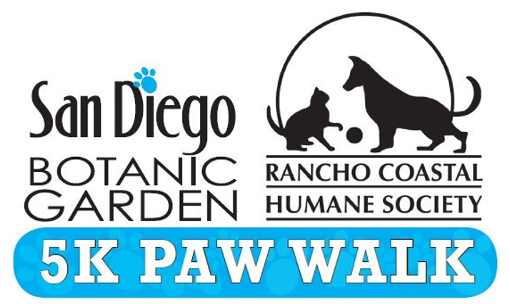 5k Paw Walk in the Garden