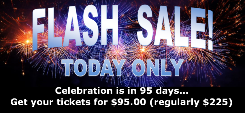 FLASH SALE! Today, June 26, 8AM to Midnight Only!
