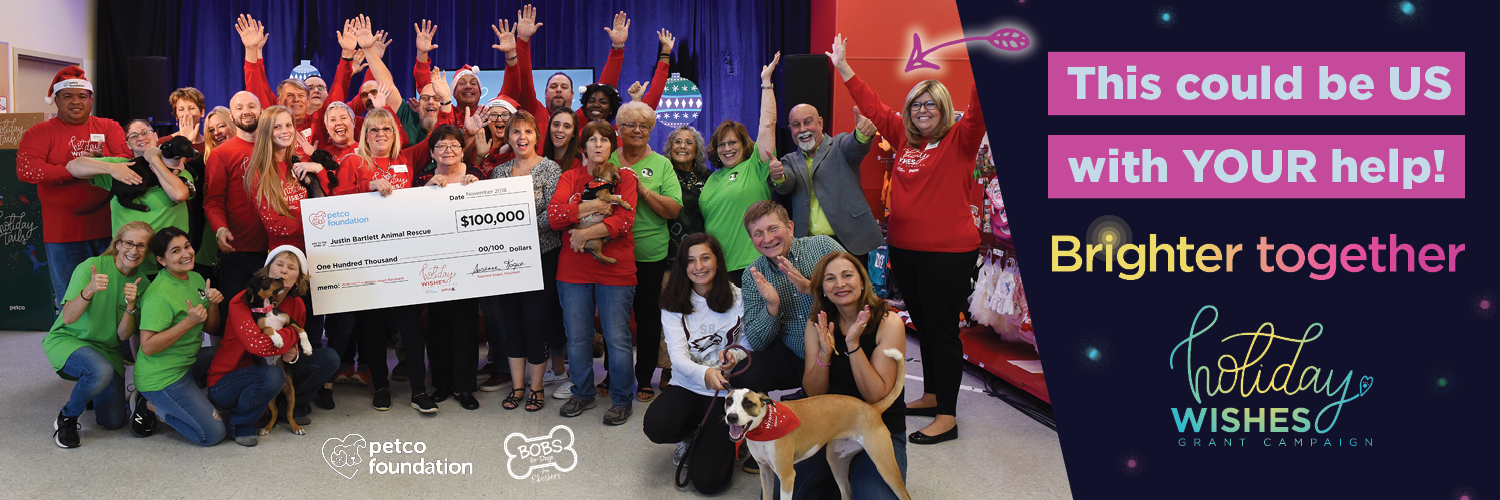 It's Never Too Early to Start Talking About Holiday Wishes. Help Us Win $100k from the Petco Foundation!