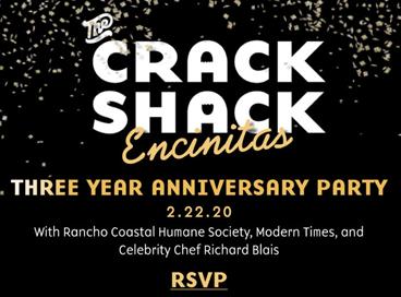 Crack Shack 3 Year Anniversary